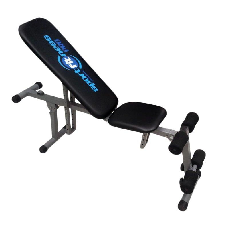 Banco pesas mancuernas sportfitness abdominales gym for Pesas y mancuernas