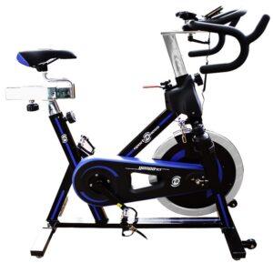 Bicicleta Spinning Genoa R1 Sportfitness Rueda 18kg Estatica