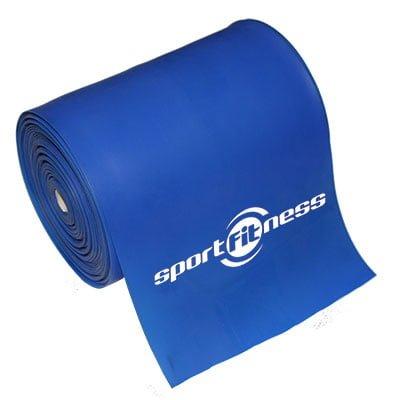 Banda Elastica Theraband Sportfitness Azul Resistencia Alta 1 Mt