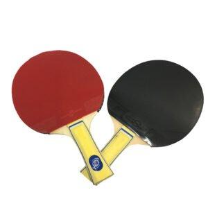 Raquetas Tennis De Mesa con Estuche + 6 Pelotas De Ping Pong