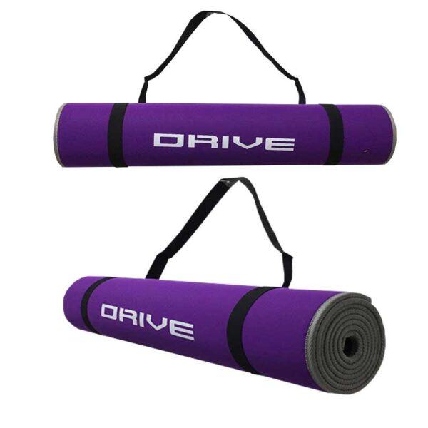 Colchoneta Tapete Plegable Yoga Y Pilates Drive Profit Portatil Gimnasio