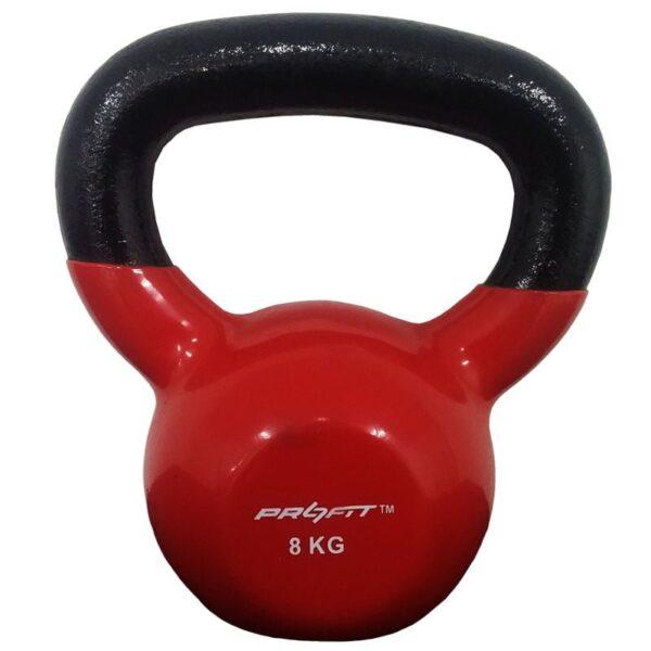 Mancuerna Pesa Rusa Kettlebell 8kg Profit Encauchetada Gym