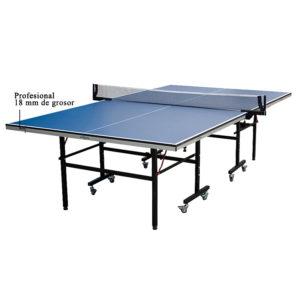 Mesa Ping Pong De 18mm Profesional Tennis De Mesa Plegable