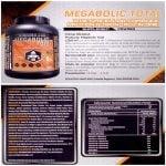 Proteina Megabolic Total Fusion 5 proteinas 2.5 Lbs