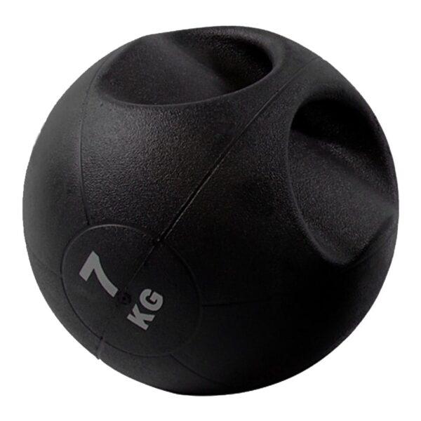 Balon Medicinal Crossfit 7 Kg con Agarre Fitness Gimnasio
