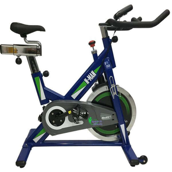 BICICLETA SPINNING N-MAN MOVIFIT ESTATICA FRENO MAGNETICO