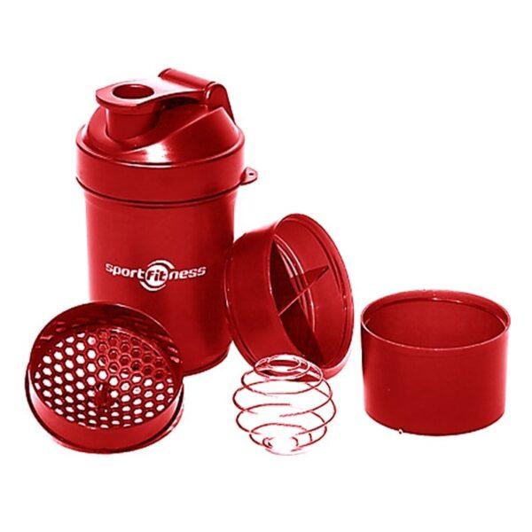 Botella Shaker Vaso Mezclador De Proteinas Sportfitness