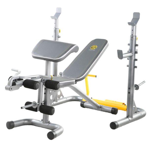 Banco Multiposición XRS 20 Golds Gym con Predicador