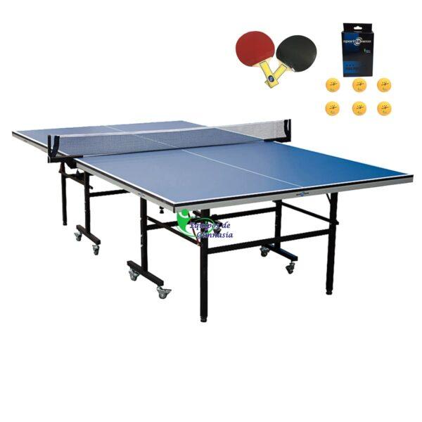 Mesa Ping Pong 18mm Sportfitness Profesional Raquetas Bolas