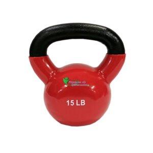 Pesa Rusa Mancuerna Kettlebell 15 Libras Profit Encauchada Gym